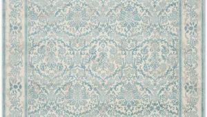 Montelimar Ivory Blue area Rug Montelimar oriental Ivory Light Blue area Rug