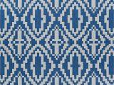 Monterey Navy Blue Indoor Outdoor area Rug Tilden Geometric Blue Indoor Outdoor area Rug