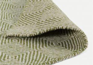 Moss Green Bath Rug Bamburg Wool Rug Extra Large 200 X 300cm Moss Green
