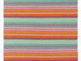 Multi Colored Striped area Rugs Maritime Multi Colored Striped Outdoor Rug