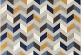 Mustard and Blue Rug Mustard Yellow Blue Gray High Traffic Stain Resistant