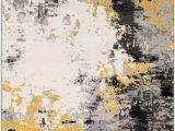 Mustard Yellow and Gray area Rug Surya Pepin Contemporary Ii area Rugs