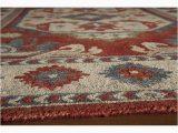 Naomi Hand Tufted Wool Ivory area Rug Shop Momeni Tangier Ivory Hand Tufted Wool Rug 5 X 8