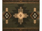 Native American Design area Rugs Allport High Quality Woven Native American Runner Double Shot Drop Stitch Carving Sage Green area Rug