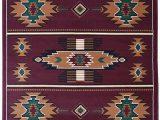 Native American Design area Rugs Rugs 4 Less Collection southwest Native American Indian area Rug Design In Beige Berber Sw3 5 X7 5ft X 7ft Burgundy