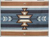 Native American Design area Rugs Rugs 4 Less Collection southwest Native American Indian area Rug Design In Light Blue Sw1 8 X10