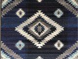 Native American Design area Rugs south West Native American Indian area Rug Turquoise Beige Grey Blue Purple Storm Blue Design 1033 5 Feet X 7 Feet