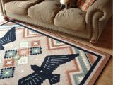 Native American Print area Rugs Native American Style area Rug