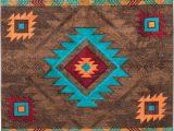 Native American Print area Rugs Native American Style Rug Native American Style area Rug