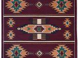 Native American Print area Rugs Rugs 4 Less Collection southwest Native American Indian area Rug Design In Burgundy Maroon R4l Sw3 8 X10
