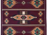 Native American Style area Rugs Rugs 4 Less Collection southwest Native American Indian area Rug Design In Burgundy Maroon R4l Sw3 8 X10