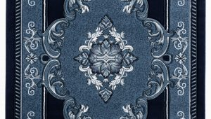 Navy and Black area Rug Josephus Navy Black area Rug