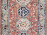 Navy and Blush area Rug Bilaal oriental Garnet Navy area Rug
