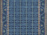 Navy and Coral area Rug Surya Arabia Mariam area Rug