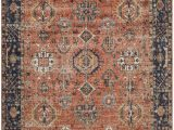 Navy and Rust area Rugs Waseca Rust Navy area Rug In 2020