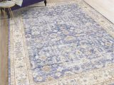 Navy and Taupe area Rug Amer Rugs Century Navy Taupe Gold Rectangular area Rug