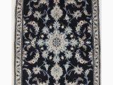 Navy Blue 3×5 Rug Navy Blue Traditional 3×5 Nain Persian Rug