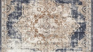 Navy Blue and Beige area Rugs Kenneth Dark Blue Beige area Rug