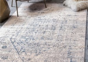 Navy Blue and Beige area Rugs Leora Gray Navy Blue area Rug