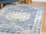 Navy Blue and Beige area Rugs Parodi Navy Blue area Rug