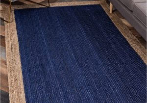 Navy Blue and Brown area Rug Niagara Hand Braided Navy Blue Brown area Rug
