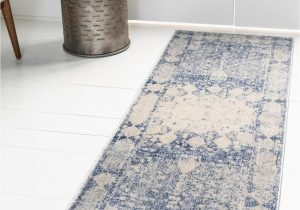 Navy Blue and Gray Runner Rug Navy Blue 2 2 X 6 Oxfordshire Runner Rug Rugs Com