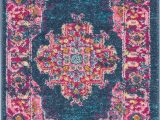 Navy Blue and Pink area Rug Abbate oriental Navy Blue Pink area Rug