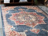 Navy Blue and Red area Rugs Bluered Rug