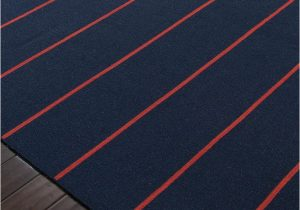 Navy Blue and Red Rug Cape Cod Navy Blue and Red Striped Rug Coastal Living Rug