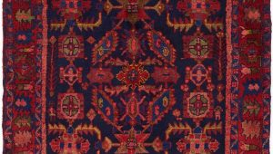 Navy Blue and Red Rug Navy Blue 4 5 X 6 8 Hamedan Persian Rug Persian Rugs