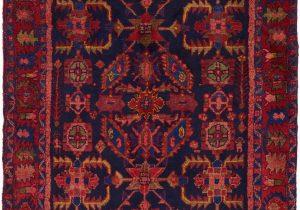 Navy Blue and Red Rug Navy Blue 4 5 X 6 8 Hamedan Persian Rug Persian Rugs