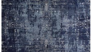 Navy Blue and Silver Rug Elite by Rug Home 1319 Navy Blue Silver Rug