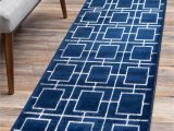 Navy Blue and Silver Rug Navy Blue Silver 2 X 10 Marilyn Monroe Blue area Rugs
