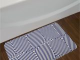 Navy Blue and White Bathroom Rugs Cool Dark Blue and White Navy Blue Bath Rug