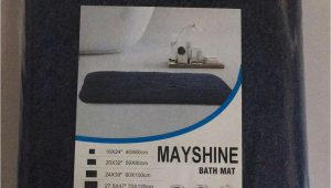 Navy Blue Bathroom Rug Runner Mayshine Mayshine 20×32 Inch Non Slip Bathroom Rug Runner