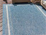 Navy Blue Border Rug Navy Blue 10 X 14 Outdoor Border Rug