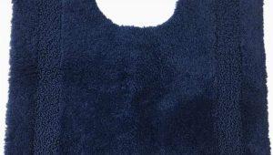 Navy Blue Contour Bath Rug Chaps Richmond Navy Blue Plush Pile Contour Throw Rug Skid Resistant 19×24 Walmart Com