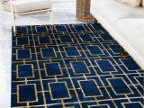 Navy Blue Floor Rugs Marilyn Monroe 5 X 8 Marilyn Monroe™ Glam Deco Rug