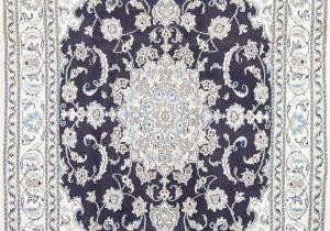 Navy Blue Floral Rug Navy Blue Floral Nain Persian area Rug 6×8