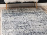 Navy Blue Fur area Rug Dark Blue Villa area Rug In 2020 with Images