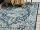 Navy Blue Fur area Rug Unique Loom Oslo Vintage Traditional Floral area Rug 6 0 X 9 0 Navy Blue Turquoise