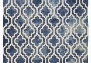 Navy Blue Geometric Rug Lb Hand Tufted Wool Navy Geometric Rug