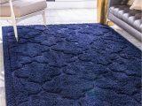 Navy Blue Outdoor Rug 8×10 Navy Blue 8 X 10 Lattice Shag Rug Rugs Com