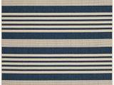 Navy Blue Outdoor Rug 8×10 Navy Blue Stripe Indoor Outdoor Rug Safavieh Com
