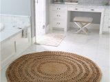 Navy Blue Round Bathroom Rug the Round Jute Rug that Looks Good Everywhere the