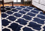 Navy Blue Rugs for Living Room Navy Blue 5 X 8 Lattice Rug