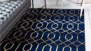 Navy Blue Rugs for Living Room Navy Blue Gold Marilyn Monroe 2 X 3 Marilyn Monroe™ Glam