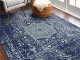 Navy Blue Rugs for Sale Riggs Distressed Dark Blue area Rug