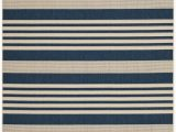Navy Blue Sisal Rug Navy Blue Stripe Indoor Outdoor Rug Safavieh