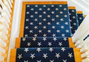 Navy Blue Star Rug Colony Stars Blue Cream Wool